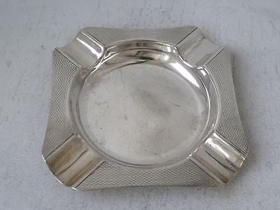 Smart Solid Sterling Silver Ash Tray 1965/ L 8.8 cm/ 55 g