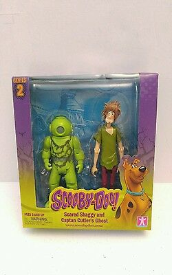 Scooby Doo! Scared Shaggy and Captan Cutler's Ghost Series 2 Action Figure