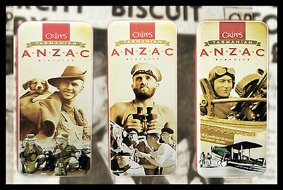 Anzac Biscuit Tins (set of 3) Series 1