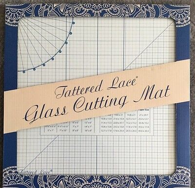 NEW IN PACKAGING Tattered Lace 13inch/33cm Glass Cutting Craft  Mat
