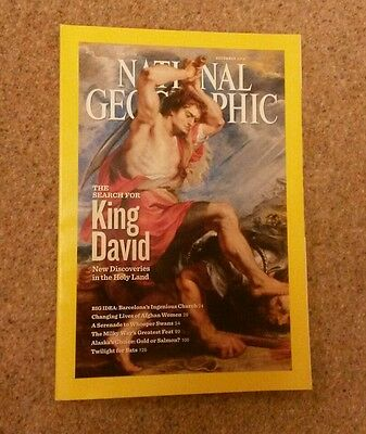 National Geographic magazine - December 2010 issue