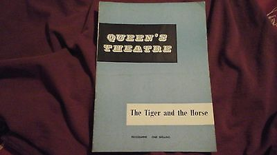 THE TIGER and the HORSE - MICHAEL REDGRAVE + ALAN DOBIE   1960 @ QUEENS