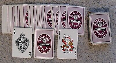 Truman's Brewery Playing Cards.Pack .'Trubrown' Brown Ale