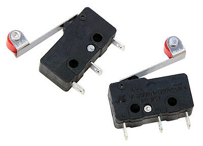 Mini Snap-Action Micro Switch (Roller Lever) (2 pack) Part # 605634