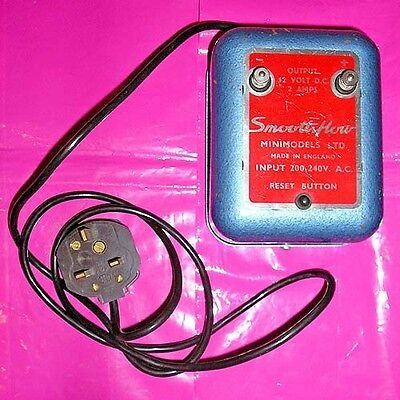 SCALEXTRIC 1960-70s Power Supply Smoothflow Minimodels UNTESTED