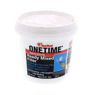 Filler Ready Mixed One Time No Shrinking Saging Sanding Spacking Red Devil 250ml