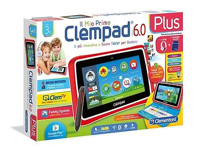Tablet Clementoni Il mio Primo Clempad Plus HD 6.0 12241