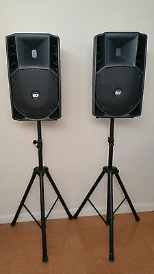 Speakers pair RCF ART 722-A Active 750W with stands