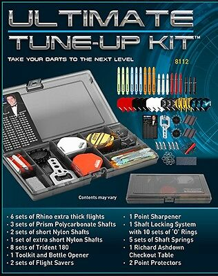 Winmau Ultimate Tune Up Kit 158 Pieces Dart Accessories..flights, Shafts Etc.