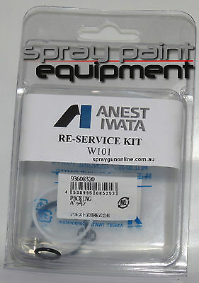 Anest Iwata W400RSK Reservice Kit W400 and LPH400