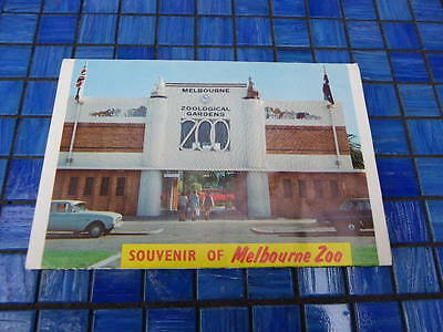 Collectable Vintage View Folder Melbourne Zoo 1950s'