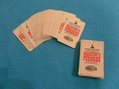 Marston's Brewery Playing Cards, pack .Marston's Pedigree