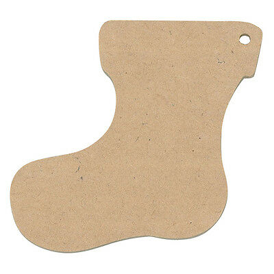 Wooden Christmas Stockings  Pack of 12