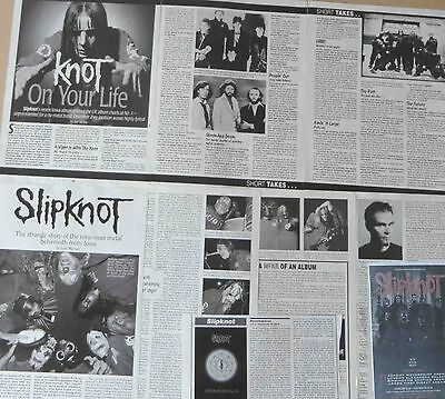 SLIPKNOT : CUTTINGS COLLECTION -interview-