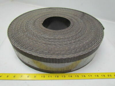 "1 ply black interwoven conveyor belt 100ft x 4"" x 3/16"""