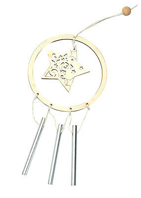 Star Wind Chime Pack of 10
