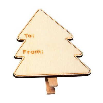 Tree Tag Clip  Pack of 10