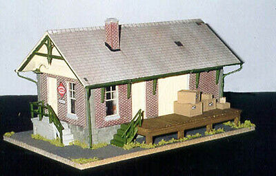 "304 LCL Freight Station ""LAST CALL"" for O Scale O On3 On30 by Crow River"