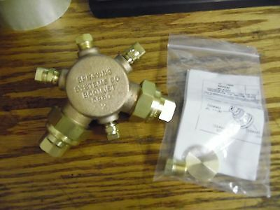 #640m NEW Spraying Systems Co Boomjet 5880 2 Valve