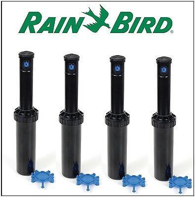 "4 Pack Rain Bird 3504-PC 4"" Adjustable Sprinkler Rotor 40 ° 360°3500 3504PC"