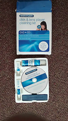 DVD / CD disk and lens player cleaning kit