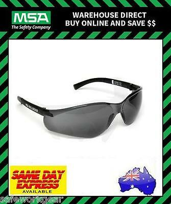 MSA NULLARBOR SMOKE Lens Safety Glasses Eyewear Protection Spectacles 229207S