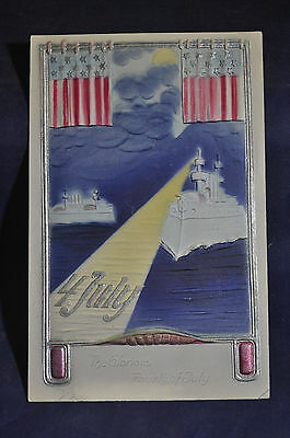 C1 1905 The Glorious 4th of July Sample Postcard