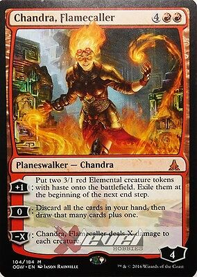 Chandra, Flamecaller [x1] Oath of the Gatewatch  [Magic the Gathering] NM