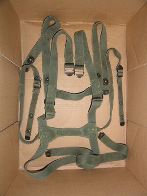 Us Army Sleeping Bag Carrier Complete Vietnam M1956 Suspenders, Mountain Usmc