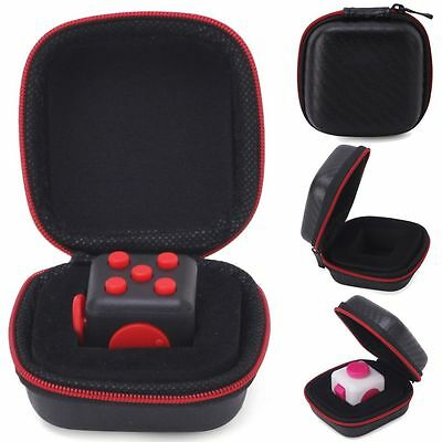 Carry Case For Stress Relief Fidget Cube Reduce Pressure Family Adults Kids