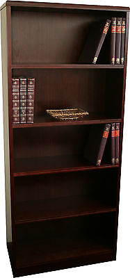 Office Timber Veneer Bookcase