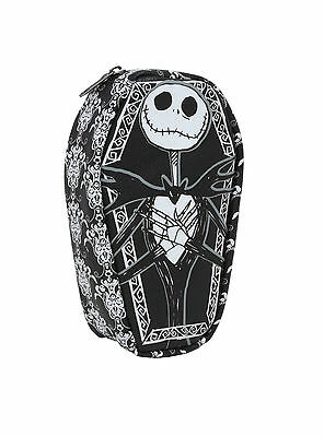 New Disney Nightmare Before Christmas Jack Face Coffin Cosmetic Makeup Case Bag