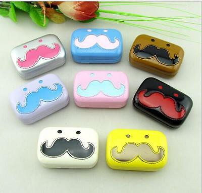 New Contact Lens Case Container Travel Pocket Size Kit Holder Mirror Box Set