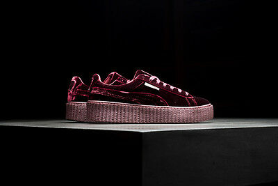 Rihanna Fenty x Puma Creepers Velvet Violet Purple  AUTHENTIC GLOBAL SHIPPING
