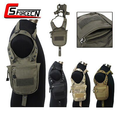 Military Tactical Airsoft Army Hidden Underarm Shoulder Pouch Secret Armpit Bag