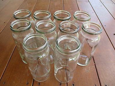 FOWLERS JARS x 10  - Size 27 Lot 2