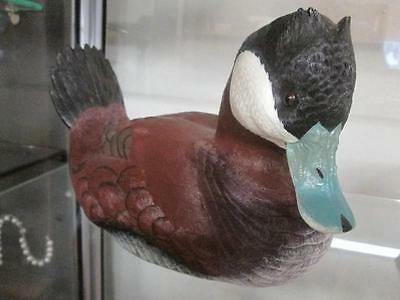 """Loon Lake Carved Duck SculptureCrow Springs Collection, #1369/2900, 8.5""""L"""