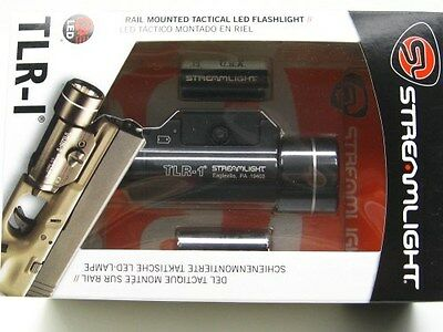 STREAMLIGHT Gun Rail Mount TLR-1 TACTICAL LED Flashlight Weapons Light! 69110