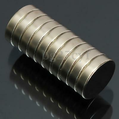 10pcs N52 12x3mm Super Strong Round Disc Magnets Rare Earth Neodymium Magnets