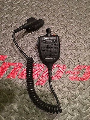Motorola Commander Ii Remote Speaker Mic With Top Channel Selection, Xts