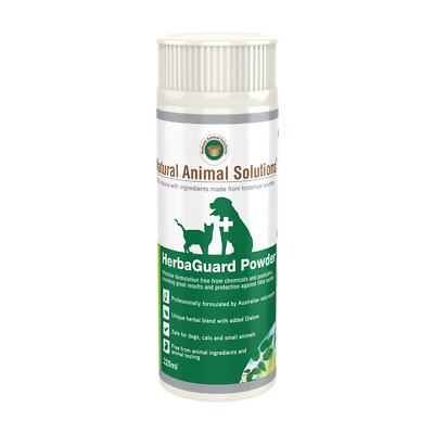 Natural Animal Solutions HerbaGuard Pest Control Powder for Dogs & Cats - 225ml
