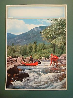 Salesman Sample Mountain Fly Fishing Trout Calendar