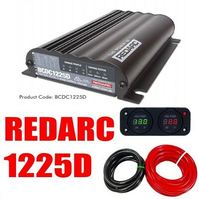 Awesome Redarc Bcdc1225D Dual Battery Isolator System Dc To Dc Mppt Solar Wiring Cloud Hisonuggs Outletorg