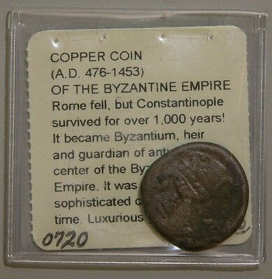 Byzantine Empire Coppe Coin Constantinople (476-1453 AD)