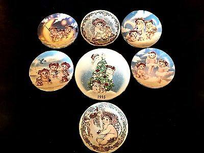 Dreamsicles PlateHamilton Collection Signed Limited Firing Large Lot (7) Seven