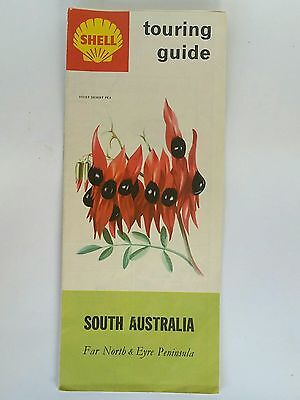 Retro - Vintage - Shell Touring Guide - South Australia - Road Map