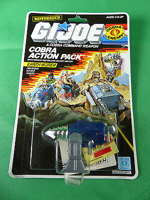 6610 GI Joe Action Pack - Earth Borer  aus Lagerfund - MOSC - NOS - 1987