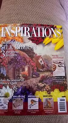 Classic Inspirations Embroidery Magazine Issue 69 2011 As New with patterns
