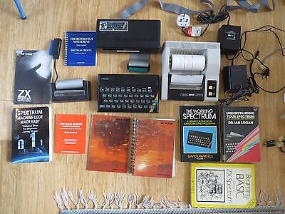SINCLAIR ZX SPECTRUM 48k HOME COMPUTER WITH ACCESSORIES