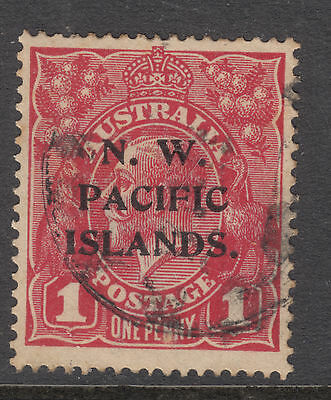 NORTH WEST PACIFIC ISLANDS SG 67a  1d George V Fine Used